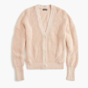 J. Crew Point Sur Ribbed Cardigan